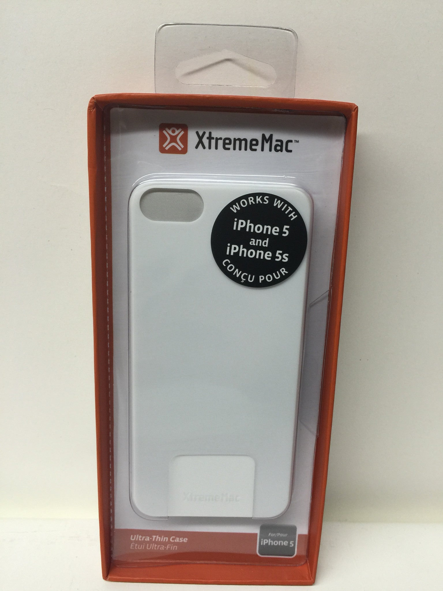 XtremeMac IPP-MTN-03 Microshield Thin Case for iPhone 5/5s-White - LiquidationOutlet.ca