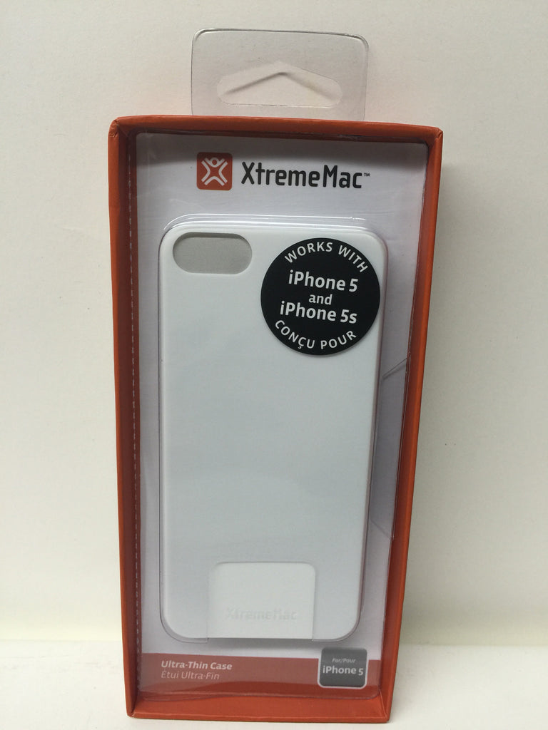 XtremeMac IPP-MTN-03 Microshield Thin Case for iPhone 5/5s-White