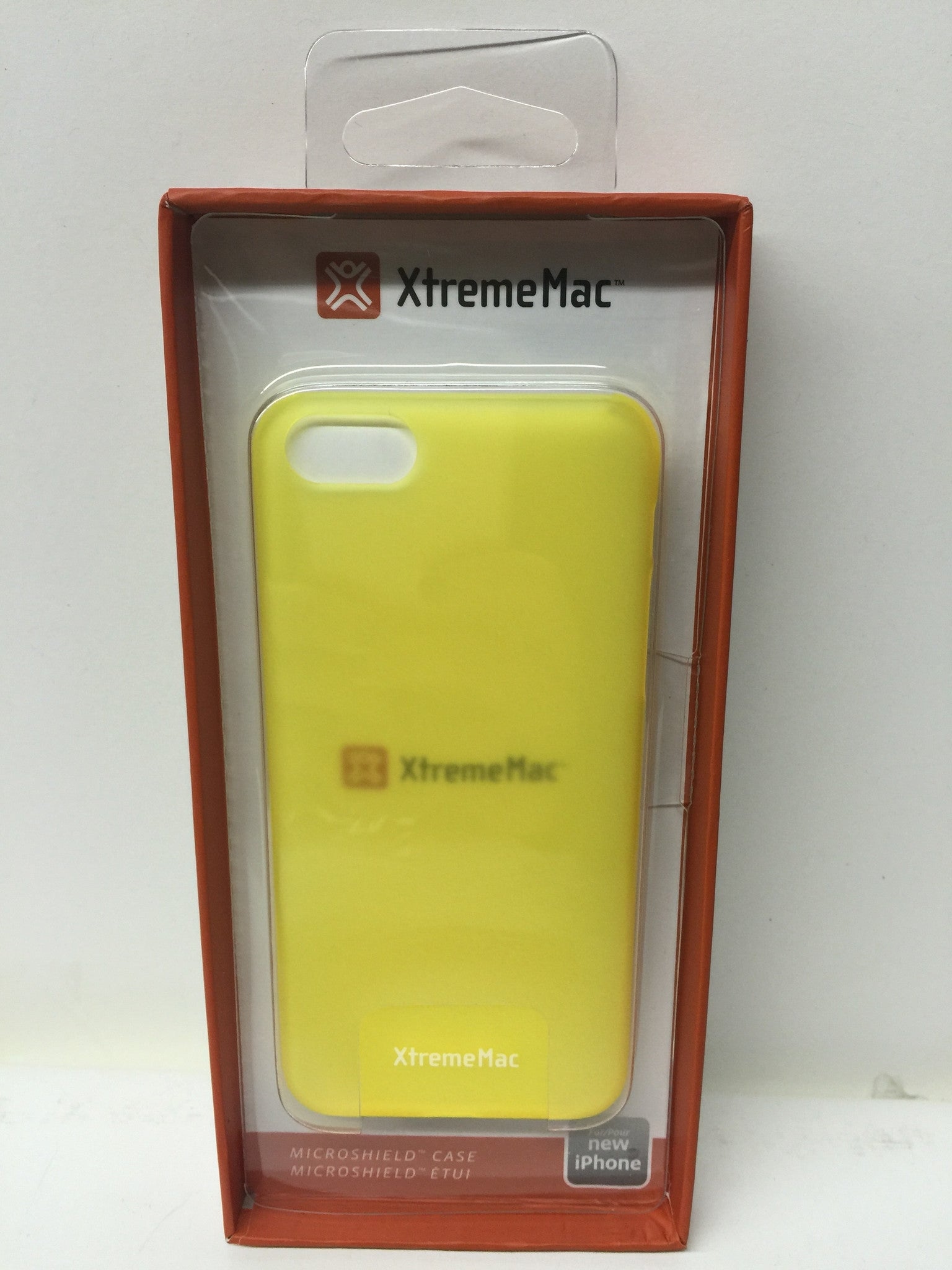 XtremeMac Microshield IPP-MLCP-93 for Apple iPhone 5c - Sunshine Yellow Frost