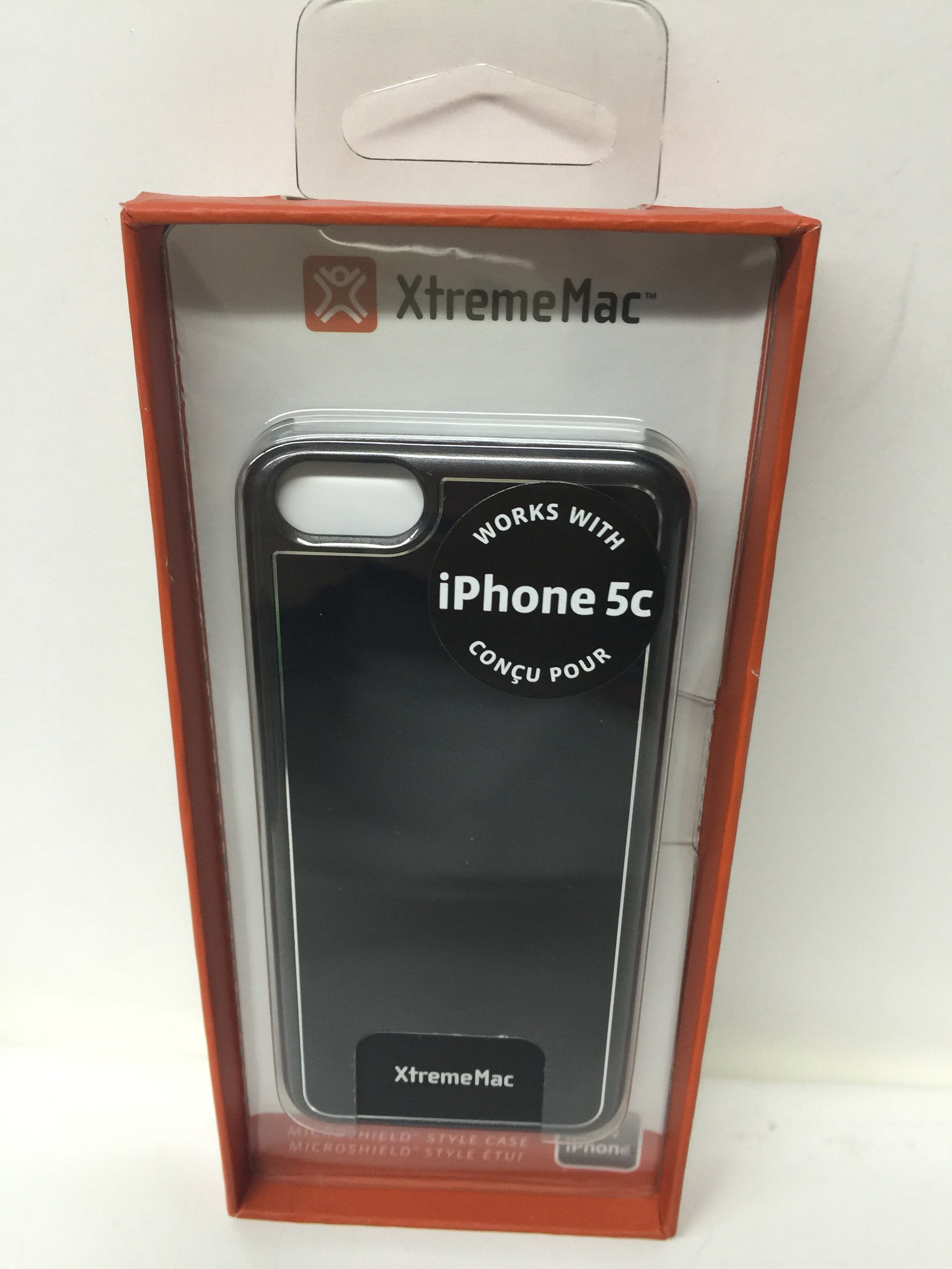 XtremeMac Microshield IPP-MSLC-13 for Apple iPhone 5c- Brushed GunMetal - LiquidationOutlet.ca