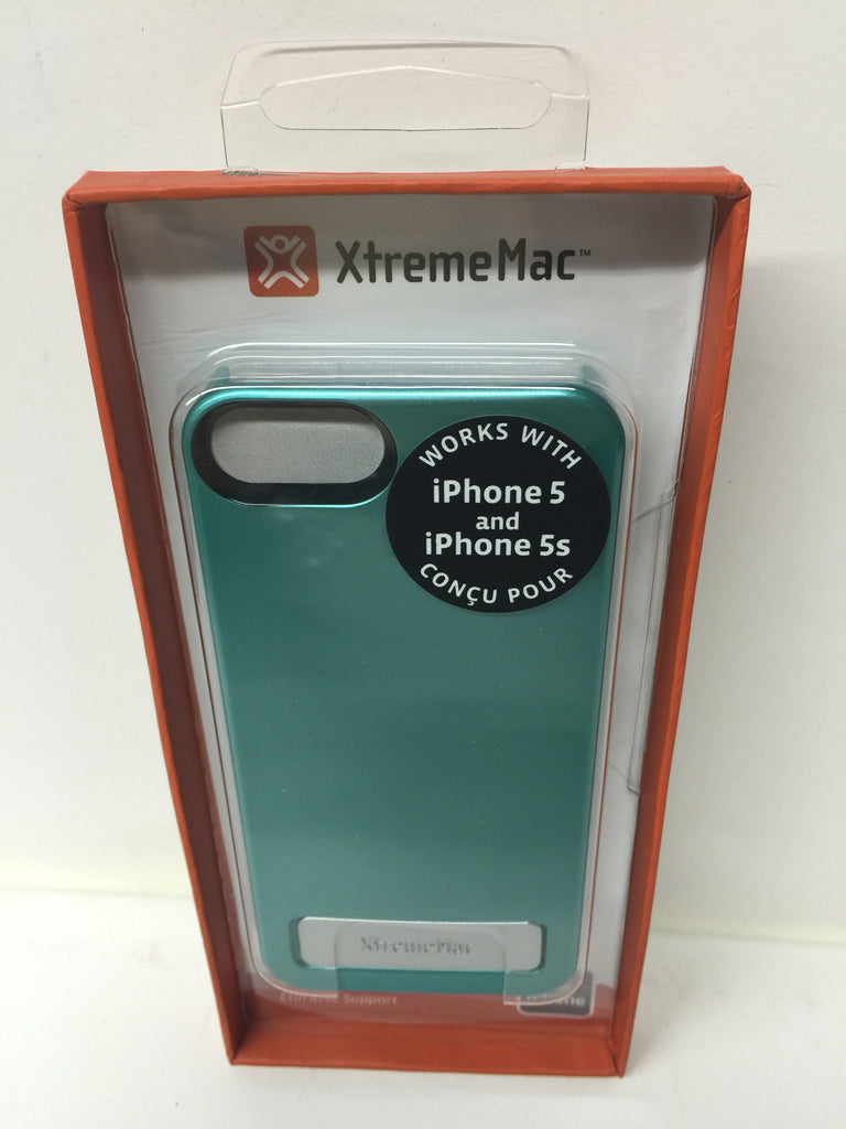 XtremeMac IPP-KSN-23 Microsheild Stand Case for iPhone 5/5s - Turquoise