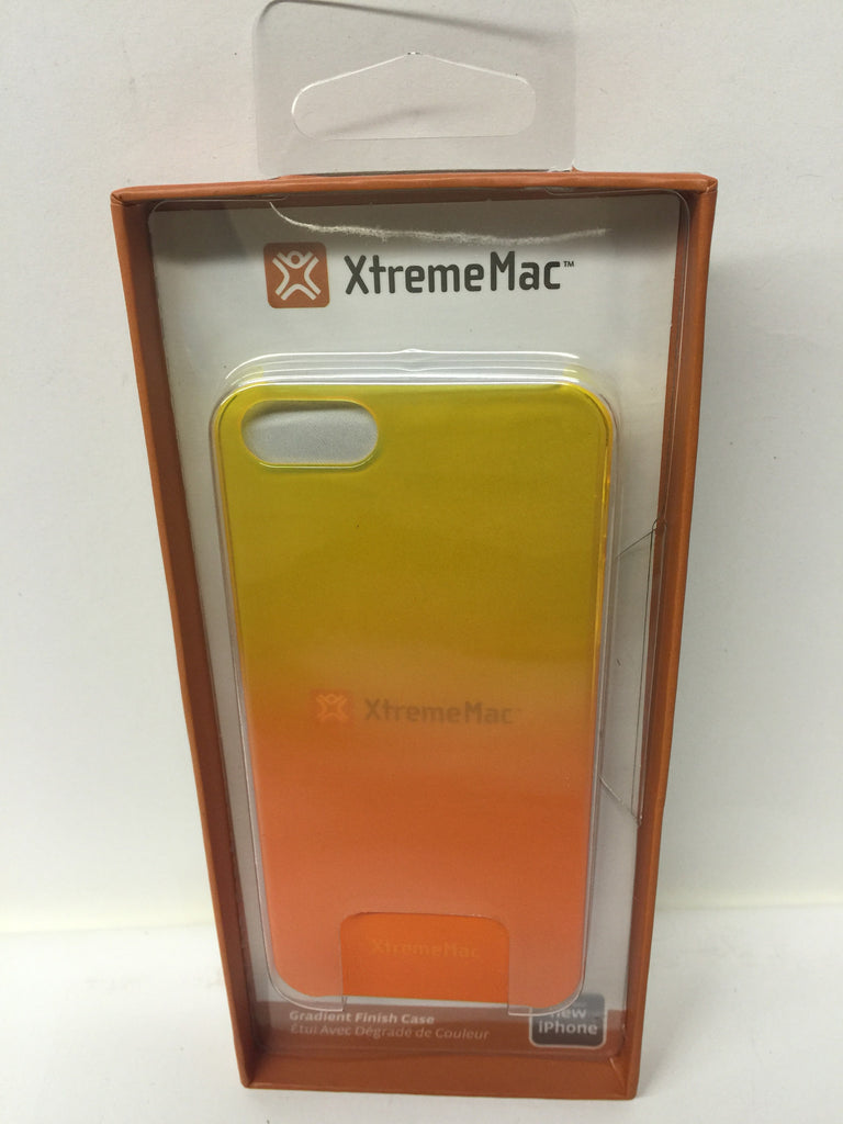 XtremeMac IPP-MFN-93 Microshield Fade Case for iPhone 5/5s - Yellow/Tangerine