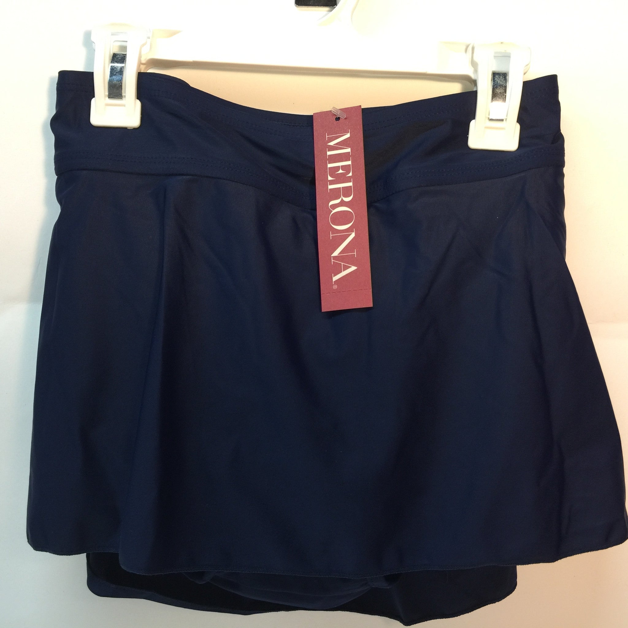 New Womens Swim Skirt by Merona - Black Navy All sizes - LiquidationOutlet.ca