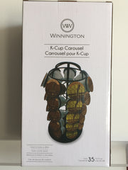 NEW, Winnington 35  K-Cup Carousel - LiquidationOutlet.ca