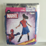 NEW, Marvel Disguise Spider-Girl Halloween Costume Girl 8-10 - LiquidationOutlet.ca
