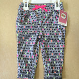 NEW, Circo Toddler Girls' Fashion Pants- Heather Gray - LiquidationOutlet.ca