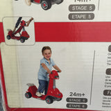NEW, Smart Trike Bicycle for Kids All in One (6-in-1) from Stage 1-Stage 6- RED - LiquidationOutlet.ca