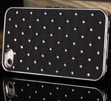 Bling Case for Iphone 4 - Black - LiquidationOutlet.ca