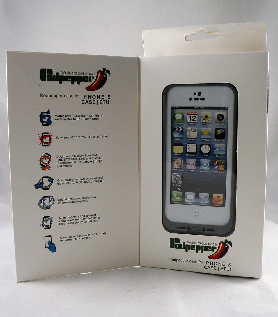 Redpepper case for Iphone 5 waterproof case