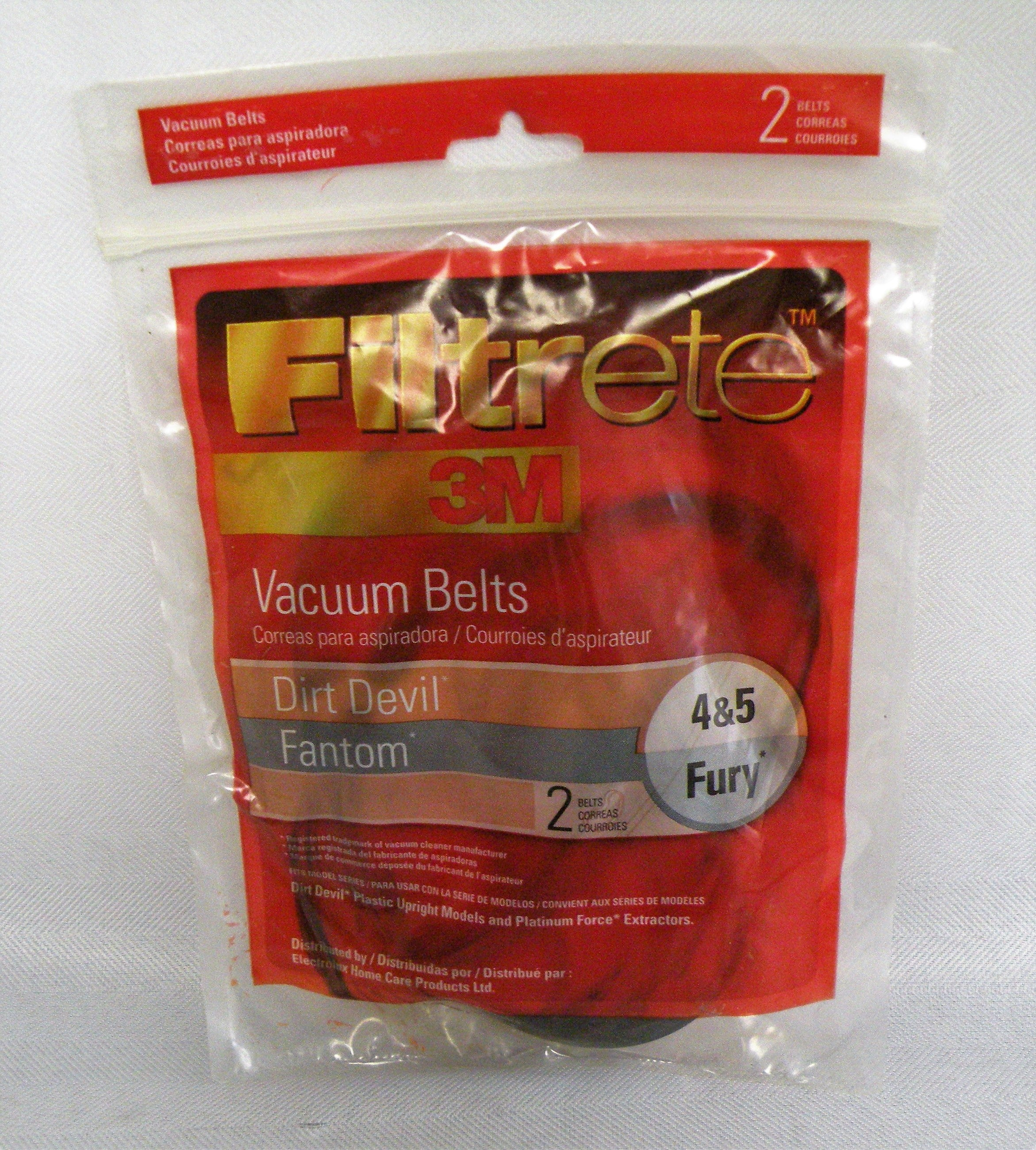 Brand New Filtrete Style 4/5 Dirt Devil Vacuum Belt (65045)