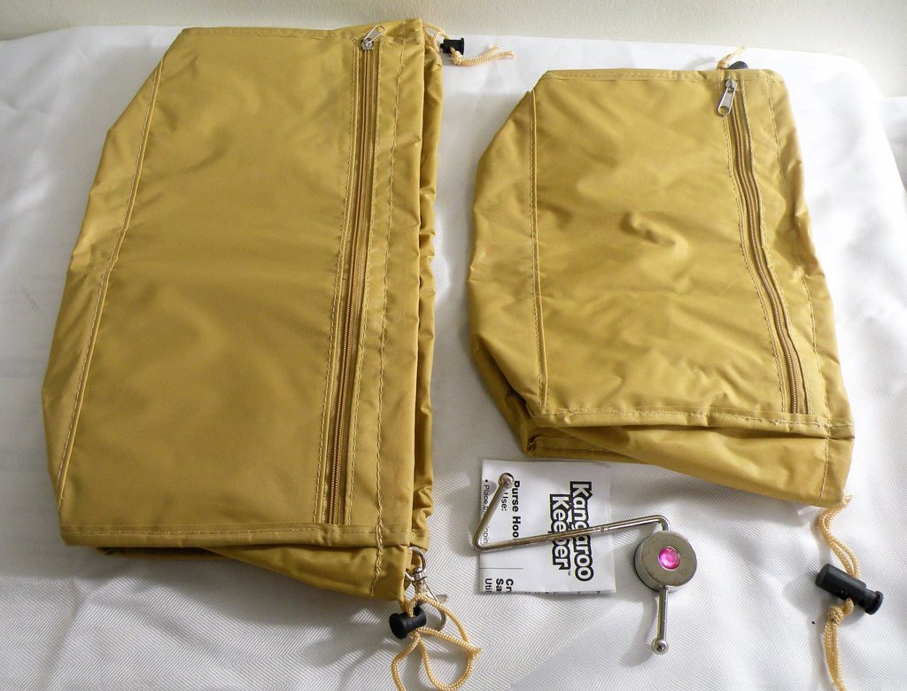 Kangaroo Keeper 2 Piece Set 1 Small Bag, 1 Large Bag Purse Handbag Organizer