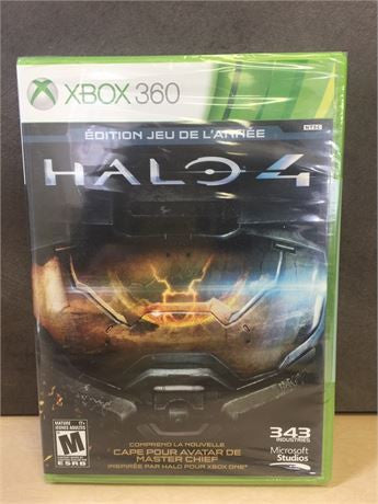 NEW, Halo 4 Game of the Year (French)Edition - Xbox 360