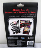 Art 101 Manga & Anime 101 Set With Learning Guide Color Pencils