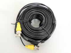 50FT Flir Surveillance Security Camera Video Audio Cable Wire Connector Cable