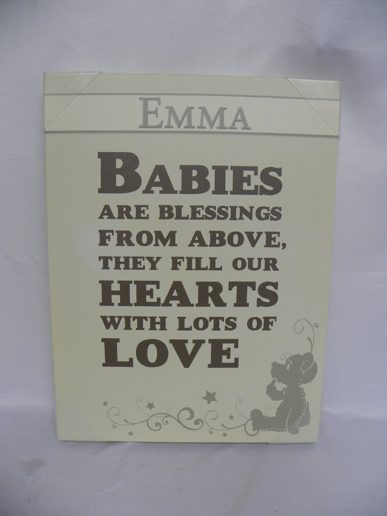 "New, Emma Baby Frame 18"" x 24"" + 1.55"" *PickupOnly - F"