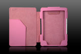 Kindle 4 Leather Case - Pink - LiquidationOutlet.ca