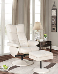 New,  Swivel Relax Chair With Ottoman SKU: R9211 (Open box; Pickup Only) - M