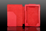 Kindle 4 Leather Case - Red - LiquidationOutlet.ca