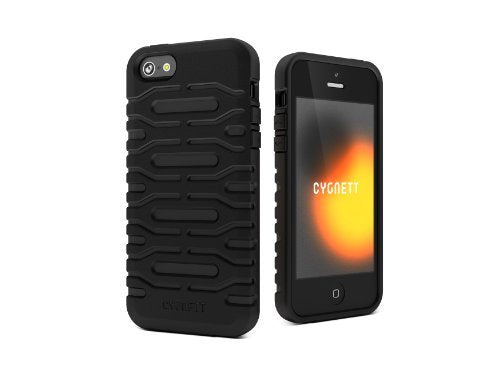 Cygnett Bulldozer Silicone Case for iPhone 5 - 1 Pack - Retail Packaging