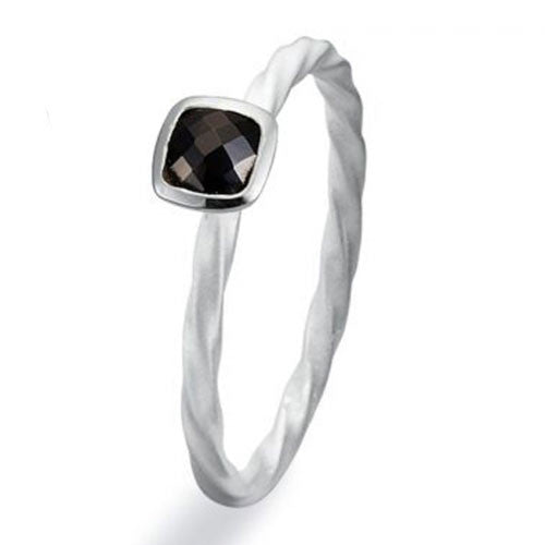NEW Genuine Spinning Jewelry Stackable Silver Ring 169-05