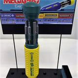 Brand New, Megapro 151HX 15-In-1 Hex Driver, Yellow/Green