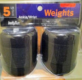 New 5 LB Pair Ankle Wrist Weights - LiquidationOutlet.ca