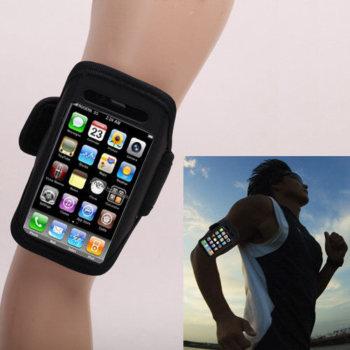 Armband Cover For Iphone 4 / 4S - Black