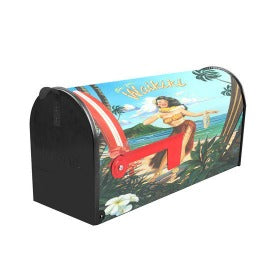 "NEW, Sainty Art Works 19"" Art Deco Mail Box Waikiki 25-010"