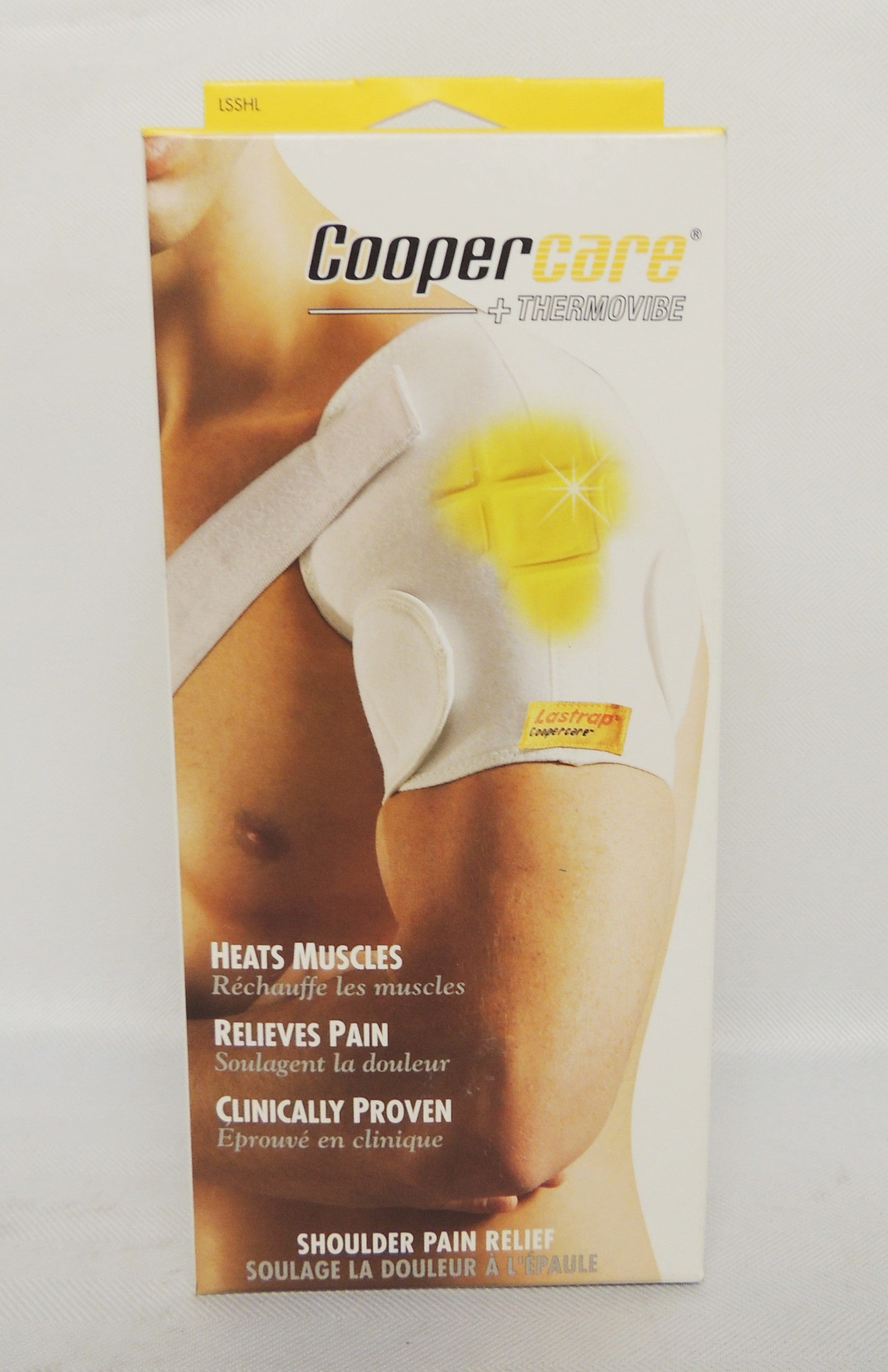 Lastrap coopercare + thermovibe shoulder pain relieving pad