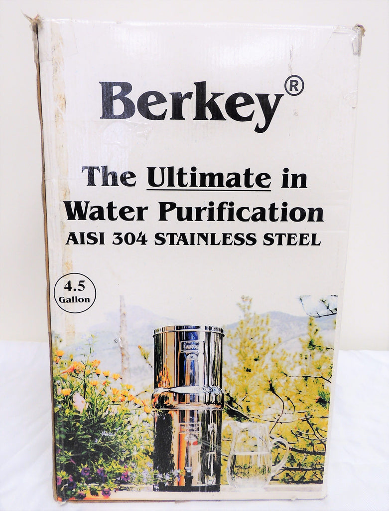 Berkey Water Purifier 4.5 Gallon with 2 Black Filters