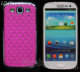 Samsung Galaxy S3 SIII Luxury Bling Case With Diamonds - Red - LiquidationOutlet.ca