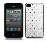 Bling Case for Iphone 4 - white - LiquidationOutlet.ca