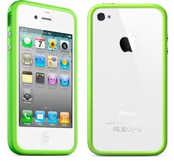 Bumper for Iphone 4 / 4S - Green - LiquidationOutlet.ca