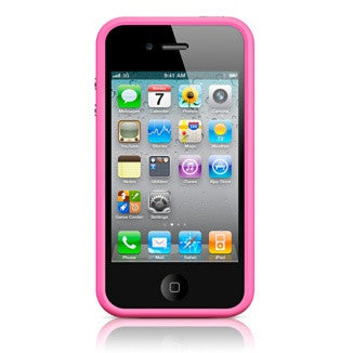 Bumper for Iphone 4 / 4S - Pink - LiquidationOutlet.ca