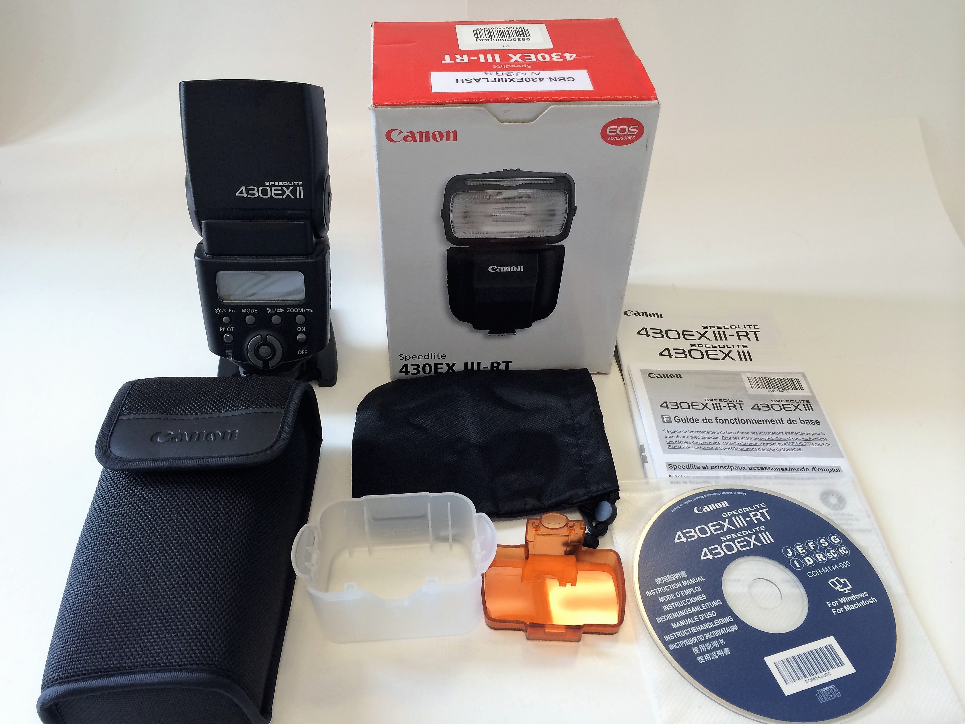 Canon Speedlite 430EX II Flash for Canon Digital SLR Cameras (FOR PARTS)