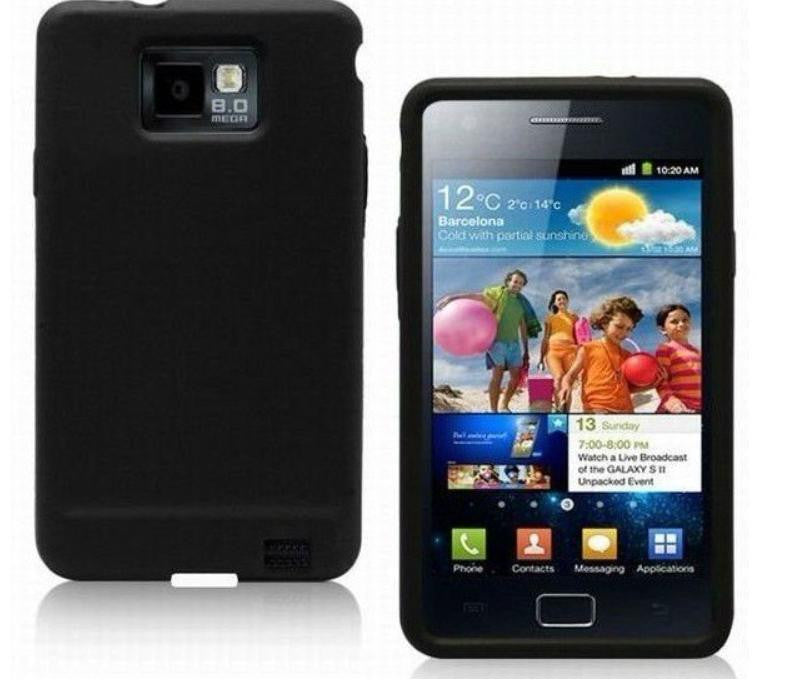 Silicone Case for Samsung Galaxy - Black - LiquidationOutlet.ca