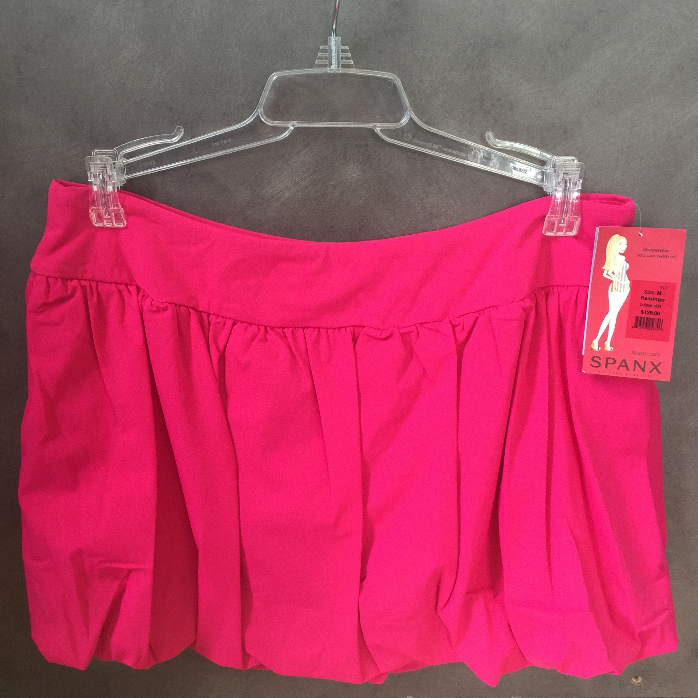 NEW, Genuine Spanx Bubble Skirt Cover-up Flamingo