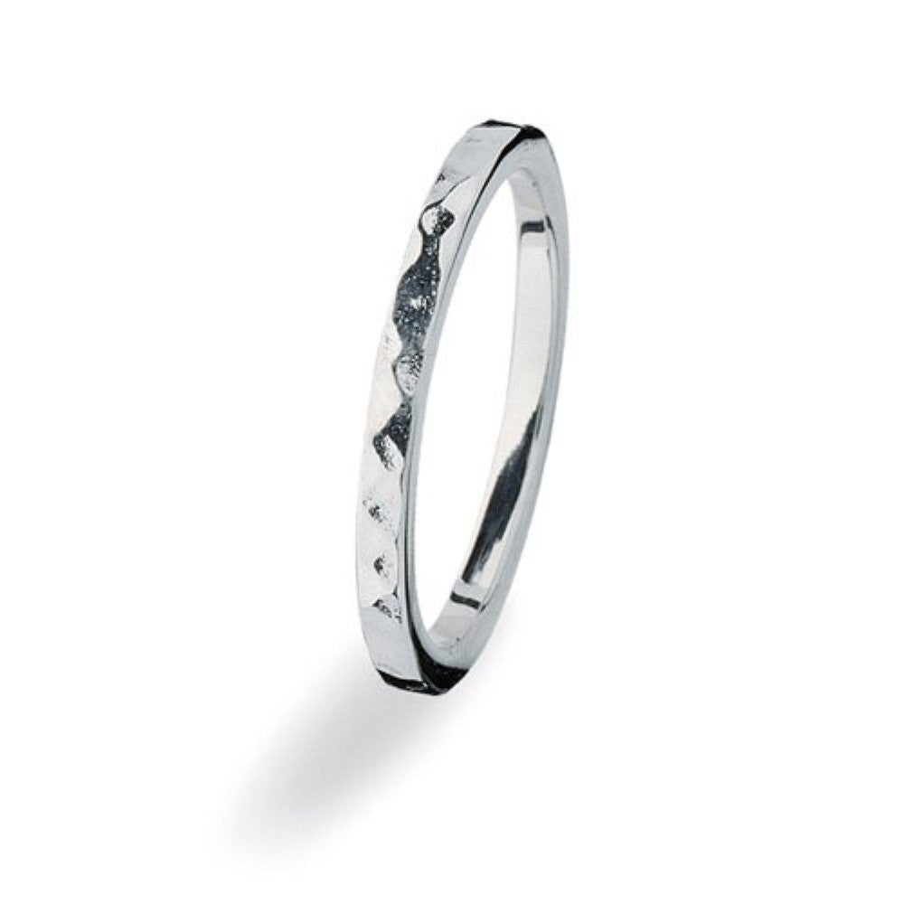 NEW Genuine Spinning Jewelry Stackable Silver Ring 175-02