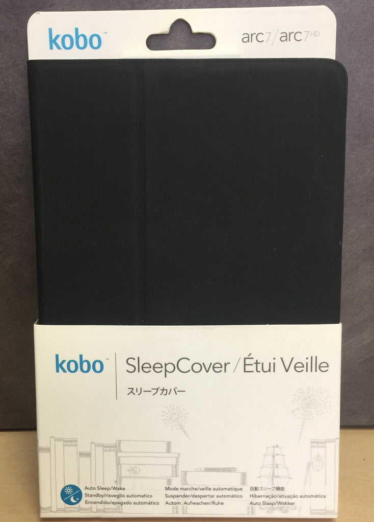 NEW, Kobo Sleep Cover Case Black for Kobo ARC 7 HD 16GB, Kobo Arc 7, 8GB