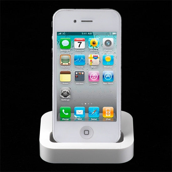 Docking station for Apple Iphone 4 / 4S Incl. USB Cable - LiquidationOutlet.ca