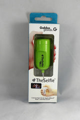GabbaGoods - TheSelfie Camera Remote Shutter for Apple iPhone/iPad - Green
