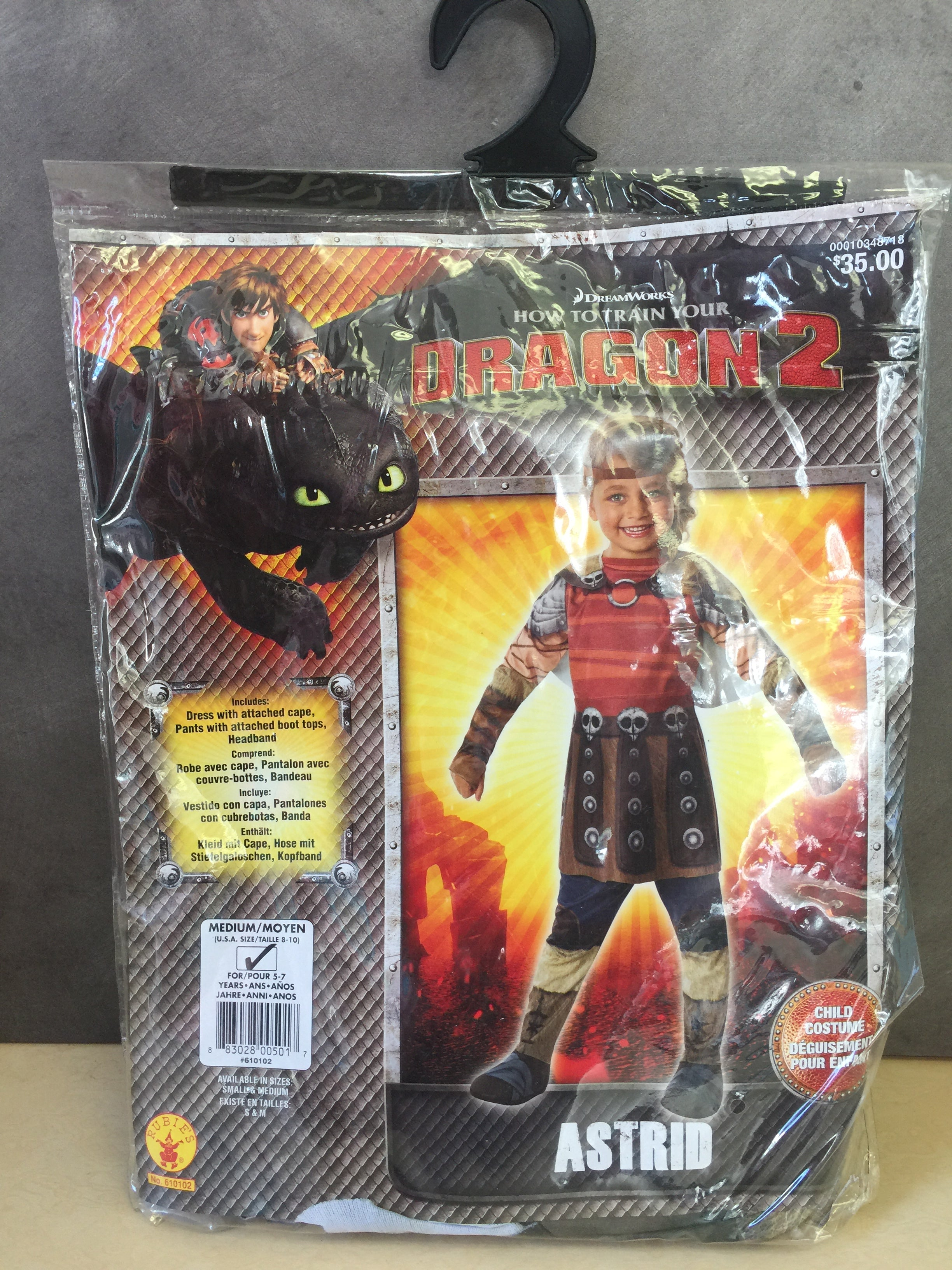 Rubies how to train your dragon 2 viking girl astrid child halloween rubies how to train your dragon 2 viking girl astrid child halloween costume ccuart Images