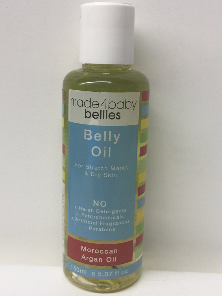 Made4baby Belly Oil Organic ( Moroccan Argan Oil)- 150ml/ 5.7 oz
