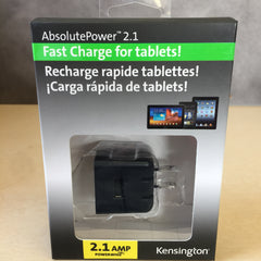 Kensington Absolutepower 2.1 Powerwhiz Wall Charger For Phone & Tablet K39572AM