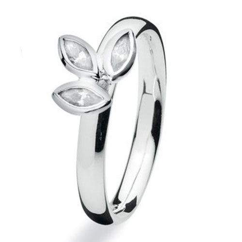 NEW Genuine Spinning Jewelry Stackable Silver Ring 710-02