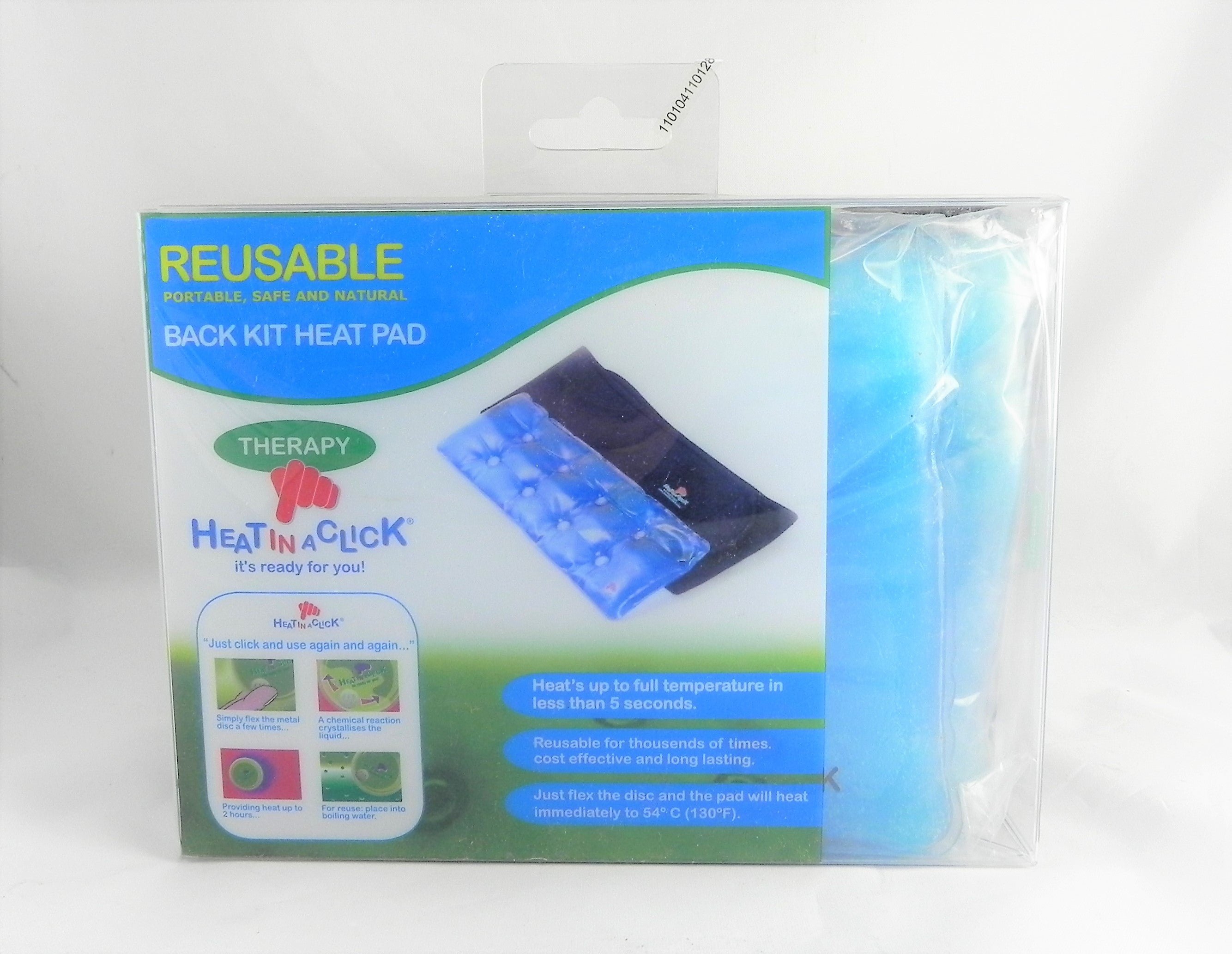 Heat In A Click Instant Reuseable Lower Back Kit Warmer Back Kit Heat Pad