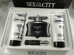 "New, Authentic Men's Sex in the City ""CODE"" Perfume Gift Set ( Made in France)"