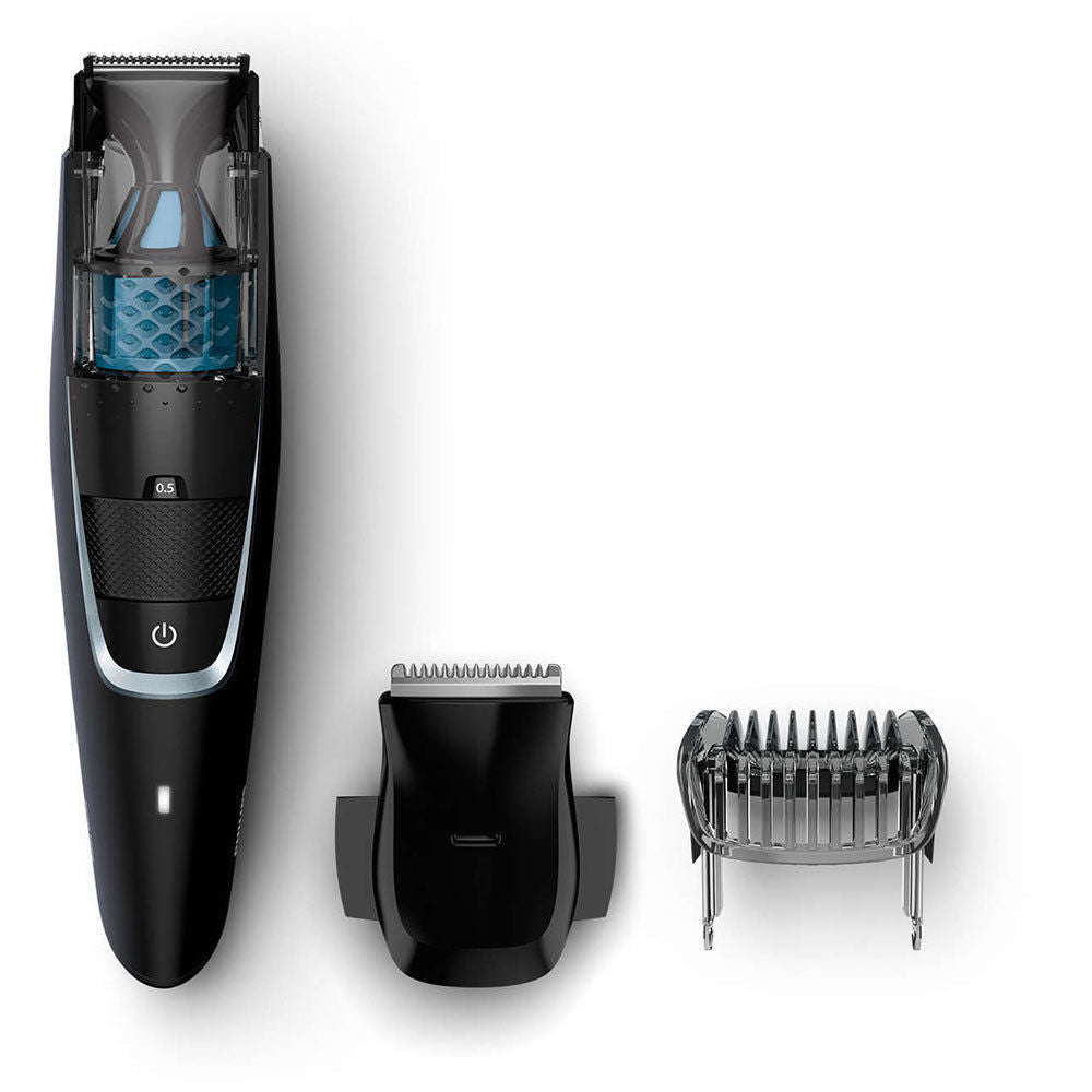 Philips BT7201 Cordless Beard Trimmer/Remover Rechargeable/Vacuum series 7000