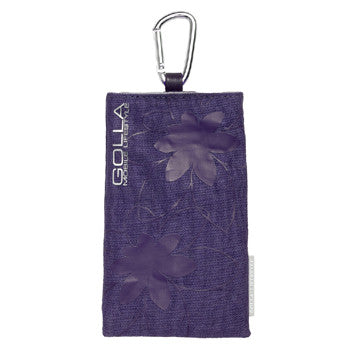NEW GOLLA G530 Purple SLEEVE PHONE CASE BAG - LiquidationOutlet.ca