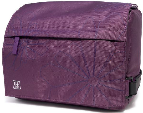 Golla Zoom G863 SLR Camera Bag/Case 2010 Range (Medium) - Purple - LiquidationOutlet.ca